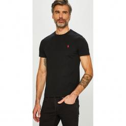 Polo Ralph Lauren - T-shirt. Szare koszulki polo marki Polo Ralph Lauren, l, z bawełny. Za 259,90 zł.