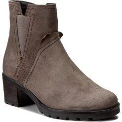 Botki GABOR - 72.804.30 Anthrazit. Szare buty zimowe damskie Gabor, z materiału, na obcasie. W wyprzedaży za 299,00 zł.