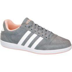 Buty damskie adidas Vl Hoops Low adidas popielate. Czarne buty sportowe damskie marki Adidas, z kauczuku. Za 239,90 zł.