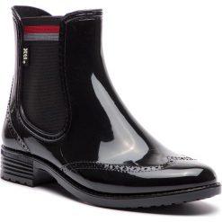 Buty zimowe damskie: Kalosze XTI - 48361  Negro
