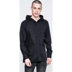Jack & Jones - Koszula. Czarne koszule męskie na spinki Jack & Jones, l, z bawełny, z długim rękawem. W wyprzedaży za 99,90 zł.