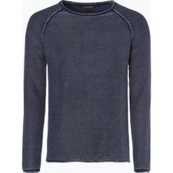 Swetry klasyczne męskie: Review – Sweter męski, niebieski