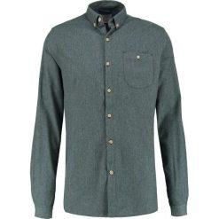 Knowledge Cotton Apparel SLIM FIT Koszula green gables. Zielone koszule męskie slim Knowledge Cotton Apparel, m, z bawełny. Za 399,00 zł.