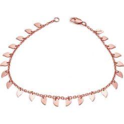 Biżuteria i zegarki damskie: Bransoletka w kolorze różowego złota