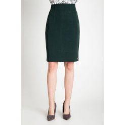 Spódniczki: Ciemnozielona ołówkowa spódnica QUIOSQUE