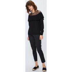 Medicine - Bluza Secret Garden. Czarne bluzy damskie MEDICINE, l, z bawełny, bez kaptura. W wyprzedaży za 49,90 zł.