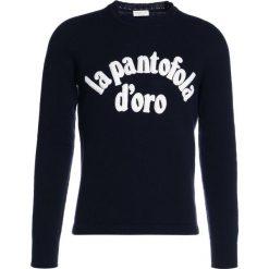 Pantofola d`Oro MAGLIA  Sweter blu. Niebieskie swetry klasyczne męskie Pantofola d`Oro, m, z materiału. W wyprzedaży za 575,20 zł.