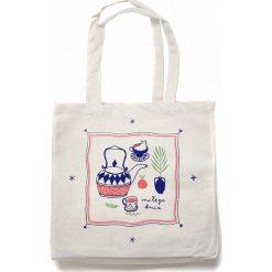 Torebki i plecaki damskie: TORBA XL | MIŁEGO DNIA | Bawełniana na ramię