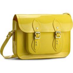 Torebka MELISSA - Satchel+The Cambridge 34114 Neon Yellow 01661. Żółte listonoszki damskie Melissa. W wyprzedaży za 339,00 zł.