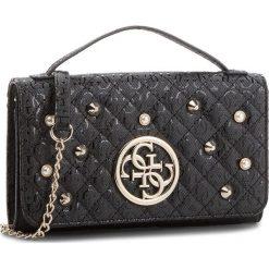 Torebka GUESS - HWSG69 89790 BLA. Czarne torebki klasyczne damskie Guess, z aplikacjami, ze skóry ekologicznej. Za 399,00 zł.