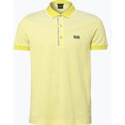 Koszulki polo: BOSS Athleisure – Męska koszulka polo – Paule 4, żółty