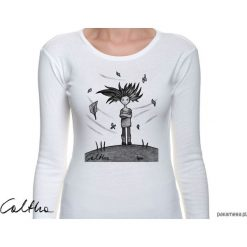 Bluzki, topy, tuniki: Wietrzna - damska koszulka z długim rękawem