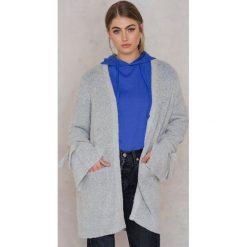 Kardigany damskie: Rut&Circle Kardigan Vera – Grey