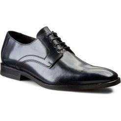 Półbuty LLOYD - Danville 15-117-29 Ocean 2. Czarne buty wizytowe męskie marki Kazar, ze skóry, z otwartym noskiem. W wyprzedaży za 419,00 zł.