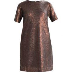 Sukienki hiszpanki: Moves KALA Sukienka koktajlowa cornsilk copper brown