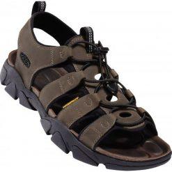 Keen Sandały Męskie Daytona M Black Olive Us 8,5 (41 Eu). Czarne sandały męskie skórzane Keen, z otwartym noskiem. W wyprzedaży za 449,00 zł.