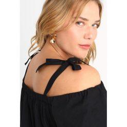 Bluzki asymetryczne: Dorothy Perkins Curve DETAIL BARDOT Bluzka black