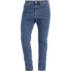 Calvin Klein Jeans 015 SKINNY RIGID Jeans Skinny Fit denim. Niebieskie rurki męskie Calvin Klein Jeans, z bawełny. Za 419,00 zł.