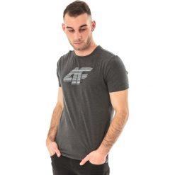4f Koszulka męska ciemnoszara r. L (H4Z17-TSM005). Szare koszulki sportowe męskie marki 4f, l. Za 27,88 zł.