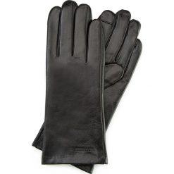 Rękawiczki damskie 39-6L-901-1. Czarne rękawiczki damskie marki Wittchen, na jesień. Za 99,00 zł.