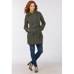 Płaszcze damskie: Jesienny, pikowany płaszcz II