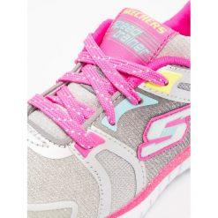 Skechers SPEED TRAINER Tenisówki i Trampki grey/multicolor. Szare trampki chłopięce marki Skechers, z materiału. Za 219,00 zł.