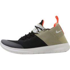 Nike Performance FREE Obuwie do biegania neutralne black/vast grey/neutral olive. Czarne buty do biegania męskie marki Nike Performance, z materiału. W wyprzedaży za 359,20 zł.