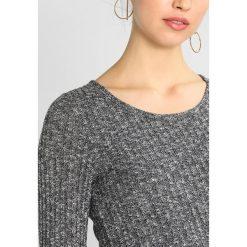 Sukienki dzianinowe: Hollister Co. BODYCON MIDI  Sukienka dzianinowa grey