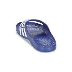 Klapki adidas  DURAMO SLIDE. Niebieskie klapki męskie Adidas. Za 71,20 zł.