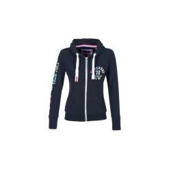Bluzy Superdry  TRACK   FIELD ZP. Niebieskie bluzy damskie marki Superdry, xs. Za 311,20 zł.