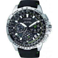 ZEGAREK CITIZEN Satellite Wave CC9030-00E. Czarne zegarki męskie CITIZEN, ze stali. Za 4980,00 zł.