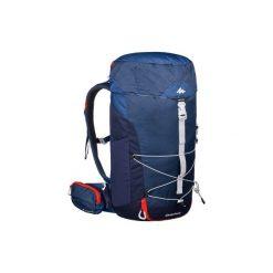 Plecak turystyczny MH100 30 l. Niebieskie plecaki męskie QUECHUA. Za 129,99 zł.