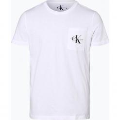 Calvin Klein Jeans - T-shirt męski, czarny. Czarne t-shirty męskie marki Calvin Klein Jeans, z bawełny. Za 129,95 zł.