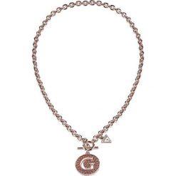 Naszyjniki damskie: Naszyjnik w kolorze różowego złota – (D)40 cm
