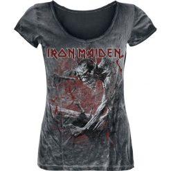 Iron Maiden Fear Of The Dark Vintage Koszulka damska czarny/efekt zużycia. Czarne t-shirty damskie Iron Maiden, xl. Za 144,90 zł.