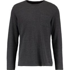 Swetry klasyczne męskie: Casual Friday Sweter dark grey melange