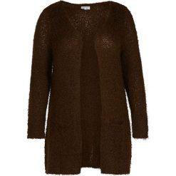 Kardigany damskie: Kardigan w kolorze brązowym