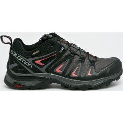 Salomon - Buty X Ultra 3 Gtx. Szare buty trekkingowe damskie marki Salomon, z gore-texu, na sznurówki, outdoorowe, gore-tex. W wyprzedaży za 549,90 zł.