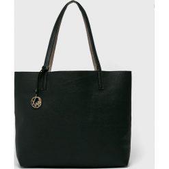 Tally Weijl - Torebka dwustronna. Czarne shopper bag damskie TALLY WEIJL, z materiału, do ręki, duże. W wyprzedaży za 69,90 zł.