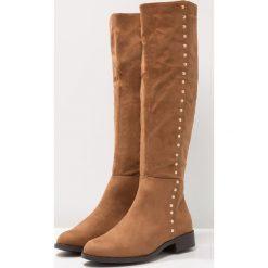 New Look Wide Fit WIDE FIT DUD Muszkieterki tan. Brązowe buty zimowe damskie New Look Wide Fit, z materiału. W wyprzedaży za 148,85 zł.
