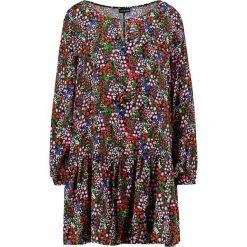 Sukienki hiszpanki: 12 Midnight TIERED SMOCK  Sukienka letnia purple/red