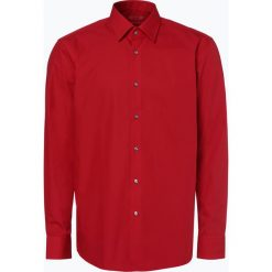 HUGO - Koszula męska łatwa w prasowaniu – C-Enzo, czerwony. Niebieskie koszule męskie non-iron marki HUGO, m, z bawełny. Za 199,95 zł.