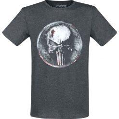 T-shirty męskie: The Punisher Blood Logo T-Shirt odcienie ciemnoszarego