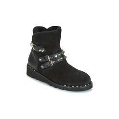 Śniegowce Mimmu  MARGIE. Czarne buty zimowe damskie Mimmu. Za 583,20 zł.
