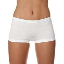 Bokserki damskie: Brubeck Bokserki damskie Comfort Cotton białe r.S (BX10470A)