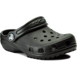 Klapki CROCS - Classic Clog K 204536 Black. Czarne klapki chłopięce marki Crocs, z tworzywa sztucznego. W wyprzedaży za 109,00 zł.