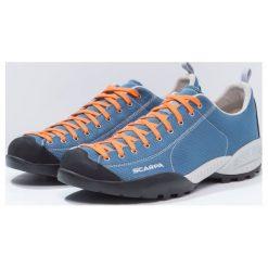 Scarpa MOJITO FRESH Obuwie hikingowe ocean/orange pop. Niebieskie buty skate męskie Scarpa, z gumy, outdoorowe. Za 509,00 zł.