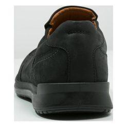 Ecco HOWELL Półbuty wsuwane black. Czarne półbuty skórzane męskie marki ecco. Za 599,00 zł.