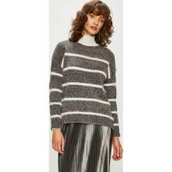 Haily's - Sweter. Szare swetry klasyczne damskie Haily's, l, z dzianiny, z okrągłym kołnierzem. Za 99,90 zł.