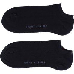 Tommy Hilfiger - Skarpety Sneaker(2-pak). Czarne skarpetki męskie TOMMY HILFIGER, z bawełny. Za 35,90 zł.